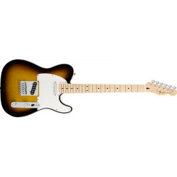 Электрогитара Fender Standard Telecaster Maple Fingerboard Brown Sunburst