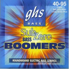 Струны для бас-гитары GHS Strings CR-L3045 Sub-Zero Bass Boomers Light