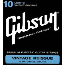 Струны для электрогитары Gibson SEG-VR10 Vintage Re-Issue Pure Nickel Wound (010-046)