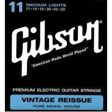 Струны для электрогитары Gibson SEG-VR11 Vintage Re-Issue Pure Nickel Wound .011-.050