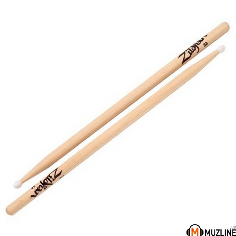 Барабанные палочки Zildjian 5ANN Nylon Natural Drumsticks