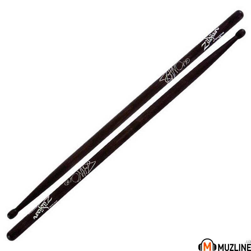 Барабанные палочки Zildjian John Otto Drumsticks Wood Charcoal
