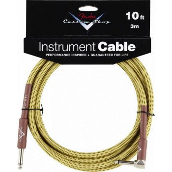 Инструментальный кабель Jack - Jack Fender Custom Shop Performance Cable 10 Angled TW