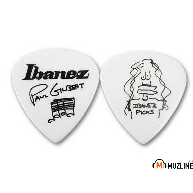 Ibanez 1000PGWH Paul Gilbert Picks