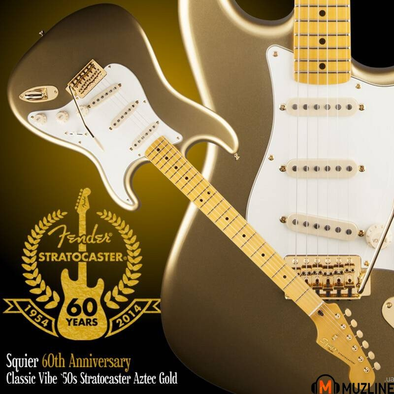 Электрогитара Fender Squier 60TH Anniversary Classic Player 50S Strat MN ATG