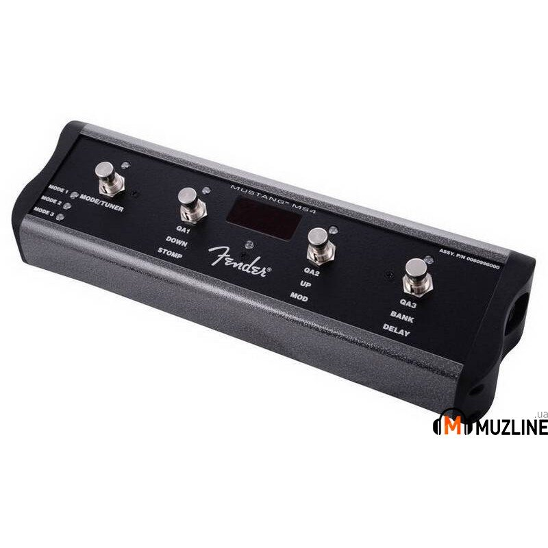 Ножной контроллер Fender Footswitch 4BTN MusTang AMP