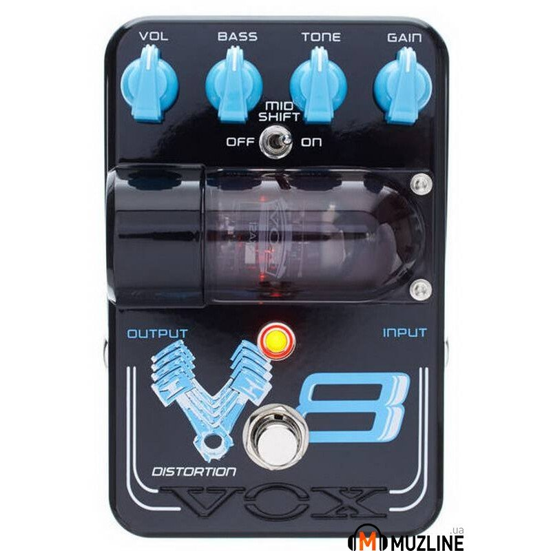 Гитарная педаль Vox TG1V8DS Tone Garage V8 Distortion
