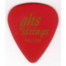 GHS Strings A570 Pick Red Medium