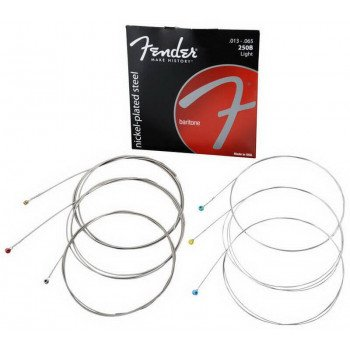 Струны для электрогитары Fender 250B Super Baritone Strings Light 013-065