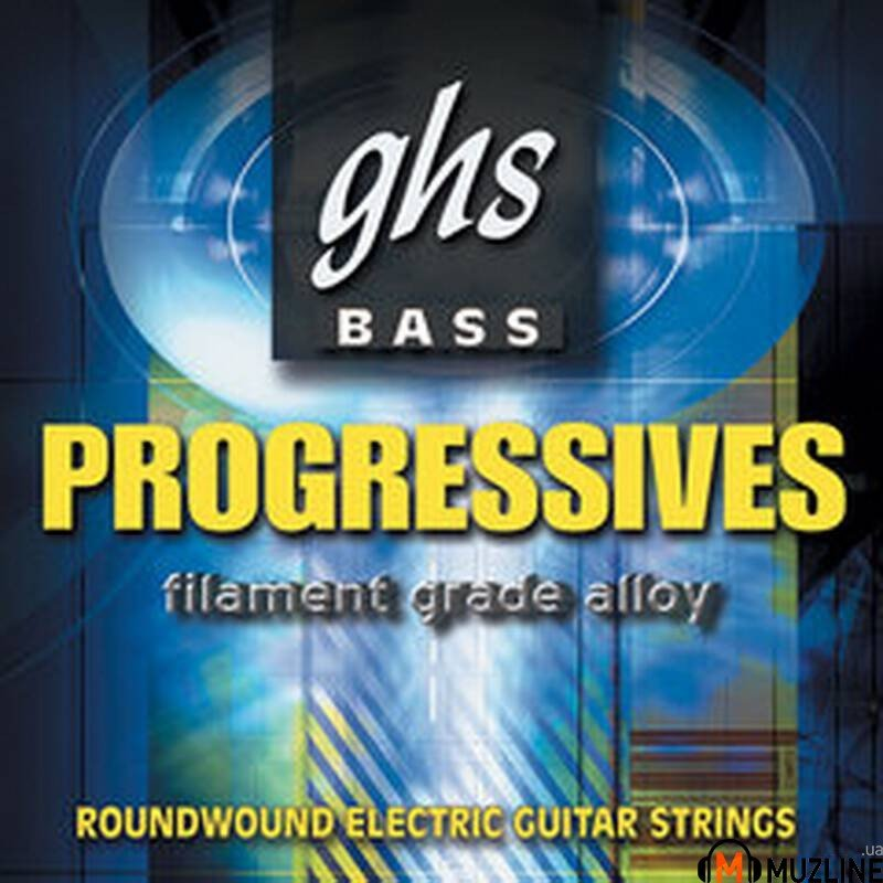 Струны для бас-гитары GHS Strings 5M8000 Bass Progressives