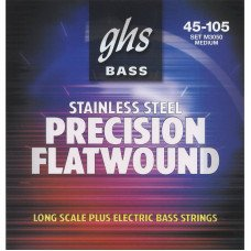 Струны для бас-гитары GHS Strings M3050 Precision Flatwound