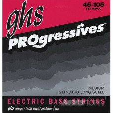 Струны для бас-гитары GHS Strings M8000 Progressives
