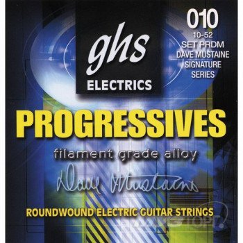 Струны для электрогитары GHS Strings Progressives PRDM 10-52