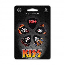Planet Waves PW1CBK6-10K2 Kiss Picks - Rock n Roll Over Heavy