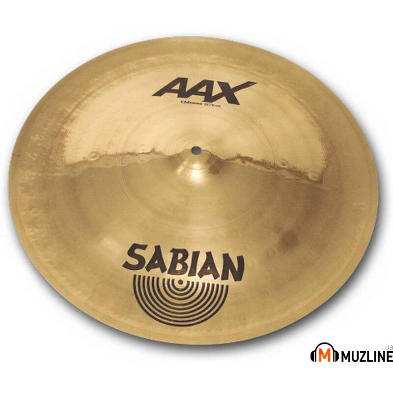 "Sabian 16"" AAX Chinese Brilliant"