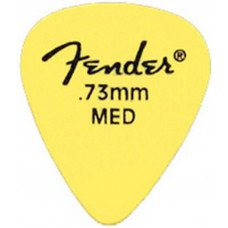 Fender Matte Derlin PickPacks 12 Yellow