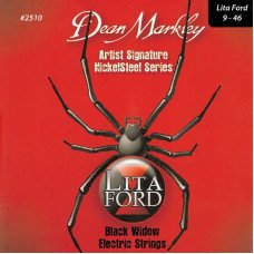 Струны для электрогитары Dean Markley 2510 Nickelsteel Lita Ford Signature 09-46