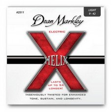 Струны для электрогитары Dean Markley 2511 Helix Electric Lt 09-42