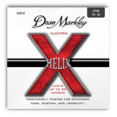 Струны для электрогитары Dean Markley 2515 Helix Electric Lthb 10-52