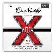 Струны для электрогитары Dean Markley 2516 Helix Electric Med 11-52