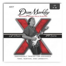 Струны для электрогитары Dean Markley 2517 Helix Electric Carl Verheyen Balanced Bridge 09-46