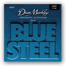 Струны для электрогитары Dean Markley 2552 Bluesteel Electric Lt 09-42