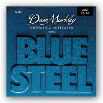 Струны для электрогитары Dean Markley 2555 Bluesteel Electric Jz 12-54
