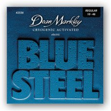 Струны для электрогитары Dean Markley 2556 Bluesteel Electric Reg 10-46