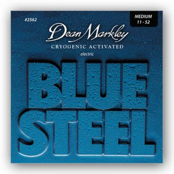 Струны для электрогитары Dean Markley 2562 Bluesteel Electric Med 11-52
