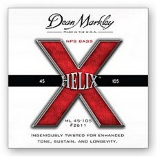 Струны для бас-гитары Dean Markley 2611 Helix HD Bass NPS ML 45-105