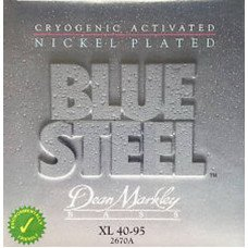 Струны для бас-гитары Dean Markley 2670A Bluesteel Bass NPS XL4 40-95