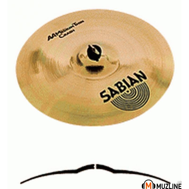 "Crash Sabian 16"" AA Medium Thin Crash Brilliant"