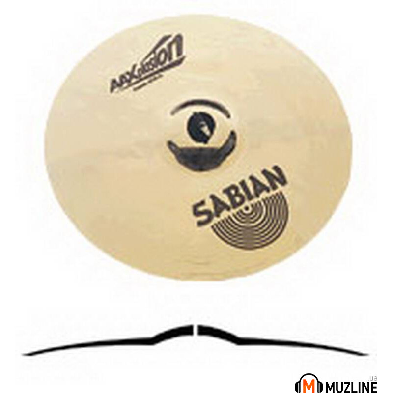 "Crash Sabian 16"" AAXplosion Crash Brilliant"