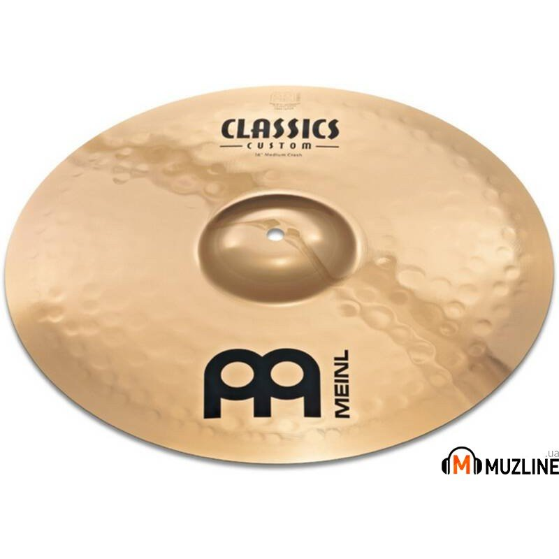 "Crash Meinl CC18PC-B 18"" Powerful Crash Classics Custom"