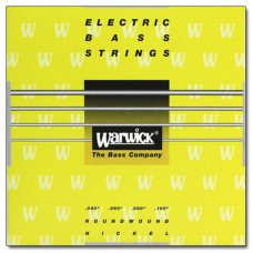 Струны для бас-гитары Warwick 41210 Yellow Label ML4 40-100