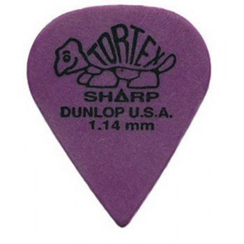 Dunlop 412P1.14 Tortex Sharp Players Pack 1.14