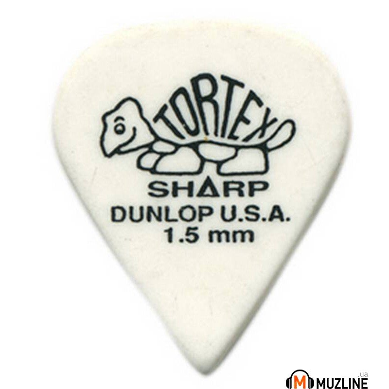 Dunlop 412P1.50 Tortex Sharp Players Pack 1.50