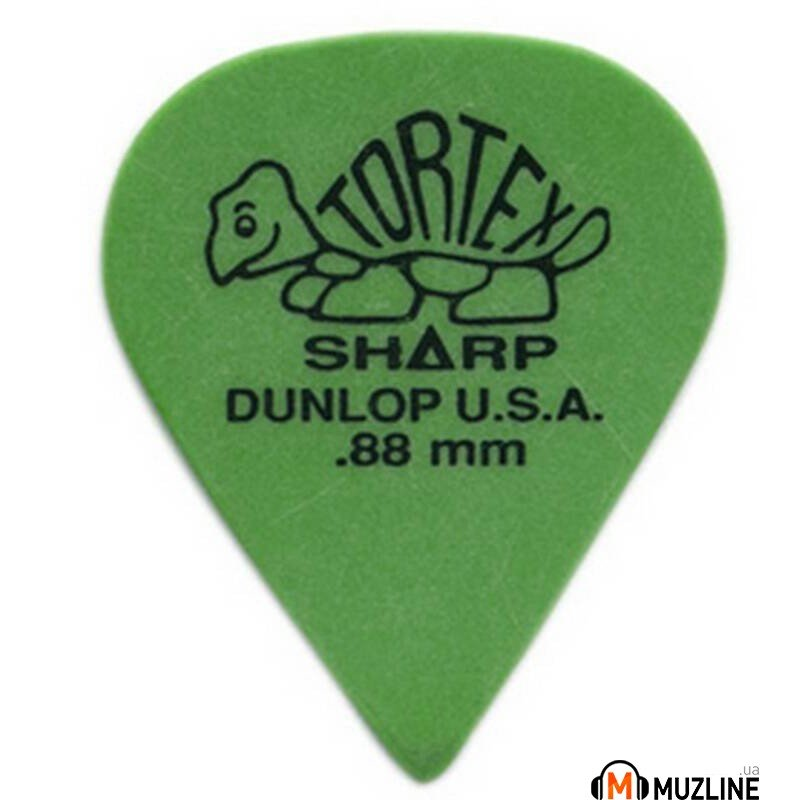 Dunlop 412P.88 Tortex Sharp Players Pack 0.88