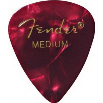 Fender 351 Premium Celluloid Red Moto Medium