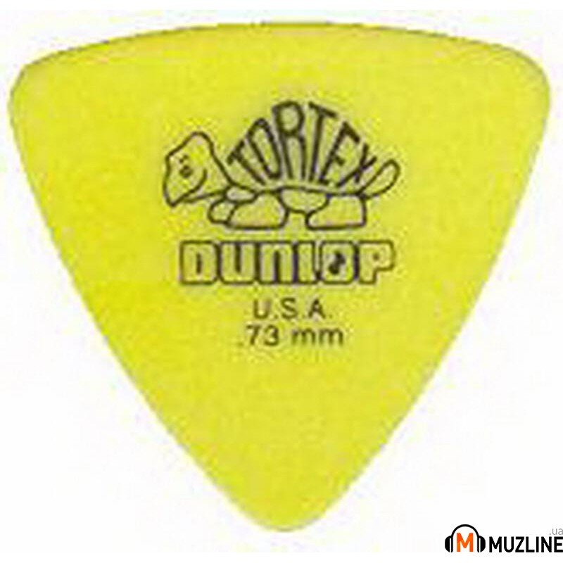 Dunlop 431P.73 Tortex Triangle Player's Pack
