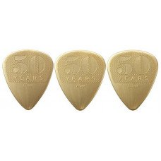 Dunlop 4429 50th Anniversary Gold Nylon Pick Cabinet