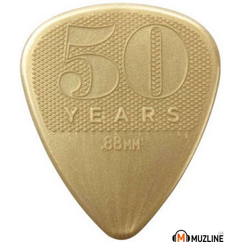Dunlop 442P.88 50th Anniversary Gold Nylon Player's Pack 0.88