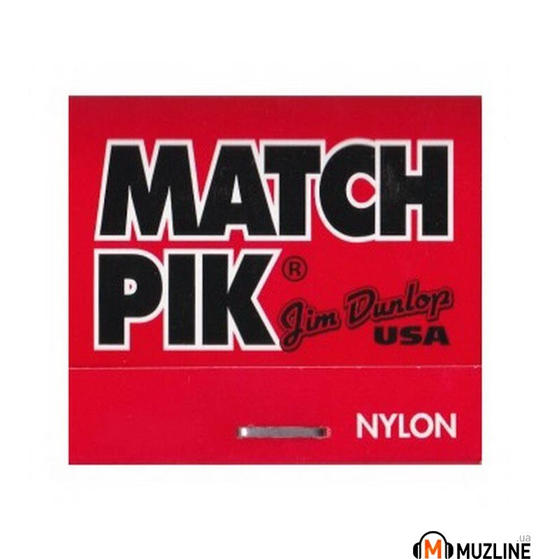 Dunlop 448P.60 Matchpick Nylon Book 0.60mm