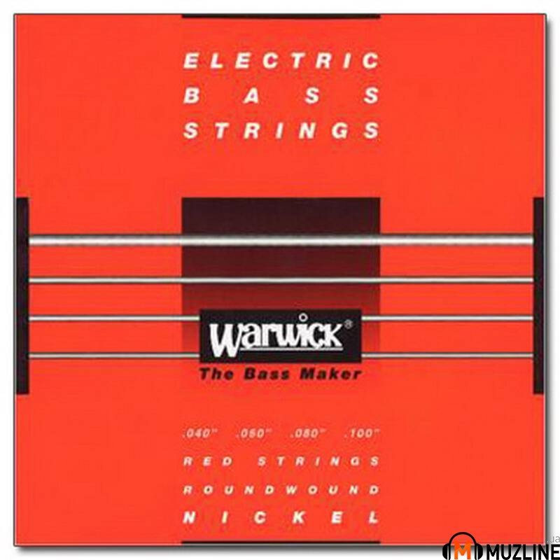 Струны для бас-гитары Warwick 46210 Nickel Electric Bass ML4 40-100