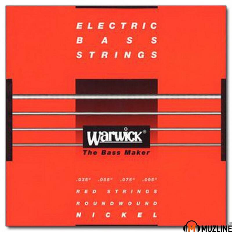 Струны для бас-гитары Warwick 46230 Nickel Electric Bass L4 35-95