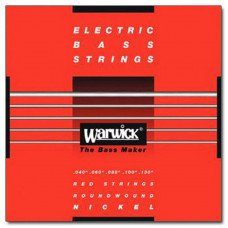 Струны для бас-гитары Warwick 46300 Nickel Electric Bass ML5B 40-130