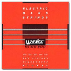 Струны для бас-гитары Warwick 46301 Nickel Electric Bass M5B 45-135