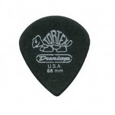 Dunlop 482P.88 Tortex Pitch Black Jazz Players Pack 0.88
