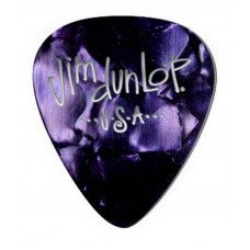 Dunlop 483P13HV Genuine Celluloid Purple Pearloid Heavy