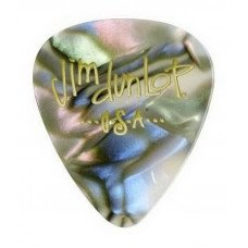 Dunlop 483P14MD Genuine Celluloid Abalone Pearloid Medium